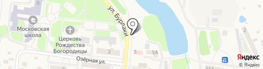Магазин по продаже фруктов и овощей на карте Московского
