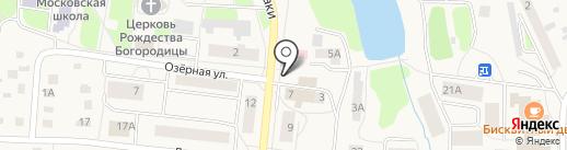 Елена на карте Московского