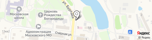 Магазин по продаже цветов на ул. Бурлаки на карте Московского