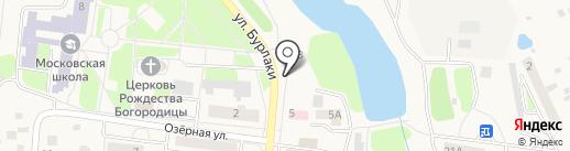 Магазин по продаже фруктов и овощей на ул. Бурлаки на карте Московского