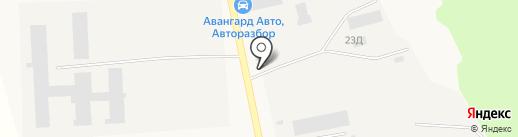 АгроСибТрейд на карте Московского