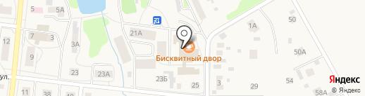 Бисквитный двор на карте Московского
