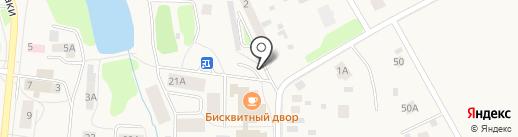 Наримановский огурчик на карте Московского