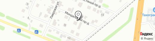 Универсалбурвод на карте Тюмени