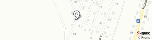 Родничок на карте Кургана