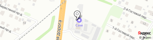 Блесна на карте Тюмени
