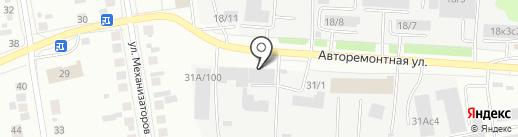 ESTA на карте Тюмени
