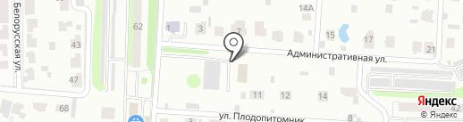 Фордевинд на карте Тюмени