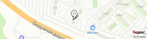 Плеханово 2.0 на карте Тюмени