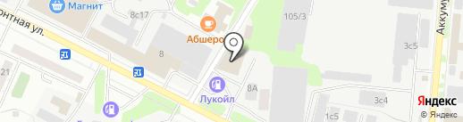 Евроазия-Сервис на карте Тюмени