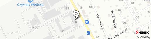 Фабриклин на карте Тюмени