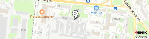 Максим и К на карте Тюмени