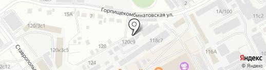 Зоорай на карте Тюмени