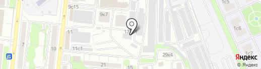 Скай Маркет на карте Тюмени