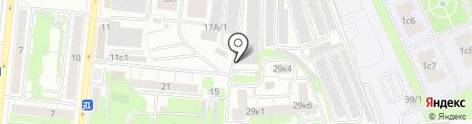 Амиго на карте Тюмени