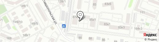 КОМПЛИМЕНТ на карте Тюмени