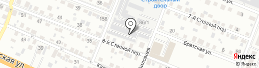 Трансстрой на карте Тюмени