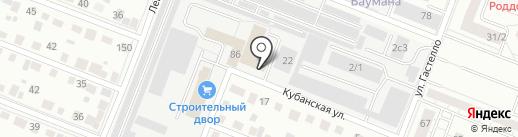 Фаскров на карте Тюмени