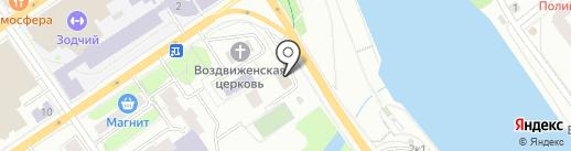КПСС & РА на карте Тюмени