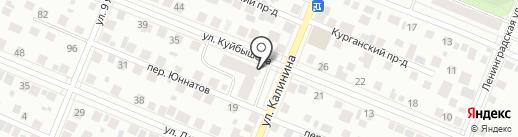Арт-Я на карте Тюмени