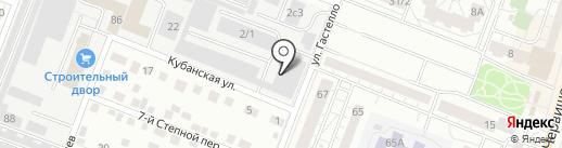 Бумер на карте Тюмени