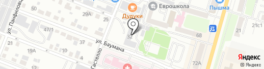 Моё-твоё на карте Тюмени