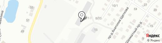 86RUS на карте Тюмени