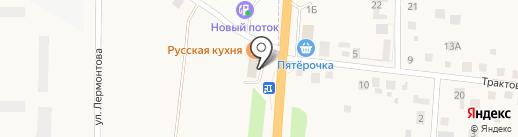 Автомагазин на карте Патрушевой