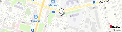 СитиСтрой на карте Тюмени