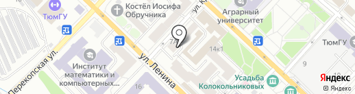 ИНВЕСТСТРОЙДОМ на карте Тюмени