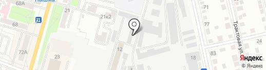 ВторМетСервис на карте Тюмени