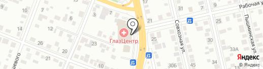 Автовладелец на карте Тюмени