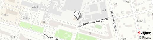 Ивушка на карте Тюмени