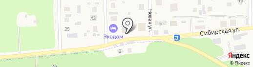 Экомед на карте Патрушевой