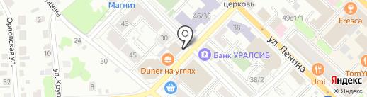 ПремьерСтрой на карте Тюмени