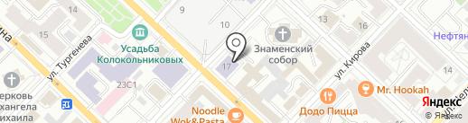 Союз садоводов России на карте Тюмени