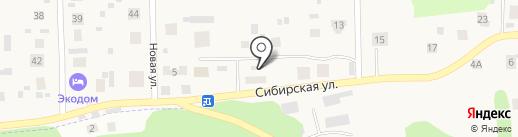 Аква Элвист на карте Патрушевой