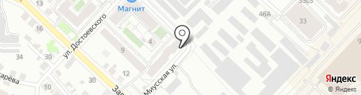 АБИВАРД на карте Тюмени