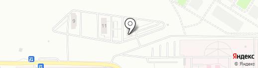 ЗАГРОС, ЗАО на карте Тюмени