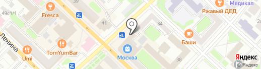 dilvin на карте Тюмени