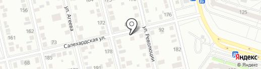 СЕРВИС ОКНА 72 на карте Тюмени