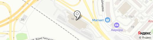 Галант Моторс на карте Тюмени
