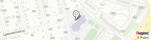 Спартак на карте Тюмени