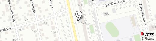 ВСС на карте Тюмени