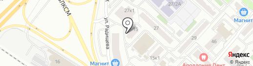 Автомир на карте Тюмени