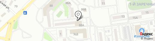 СЕВЕРАВТОАЛЬЯНС на карте Тюмени