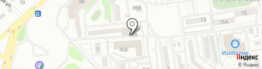 АкваСпринт на карте Тюмени