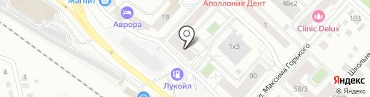 А.Матросова 1/2, ТСЖ на карте Тюмени