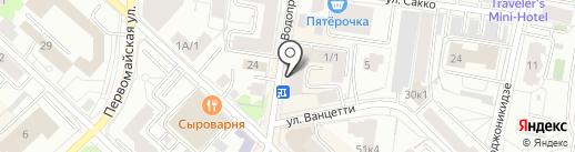 Хостел №1 на карте Тюмени