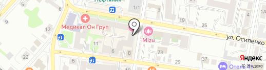 Crafty Fox Pub на карте Тюмени